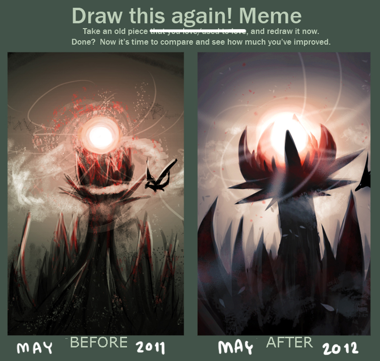 Draw this again meme by KARUN09