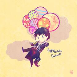 Happy Birthday Doubleleaf by KARUN09