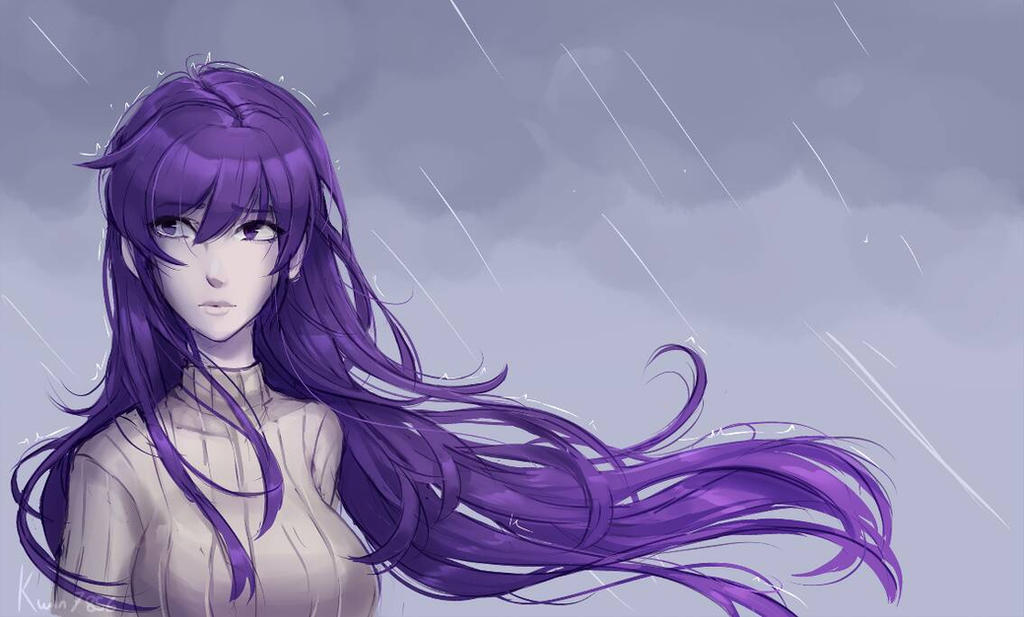 Yuri Under the Rain  by KwinR