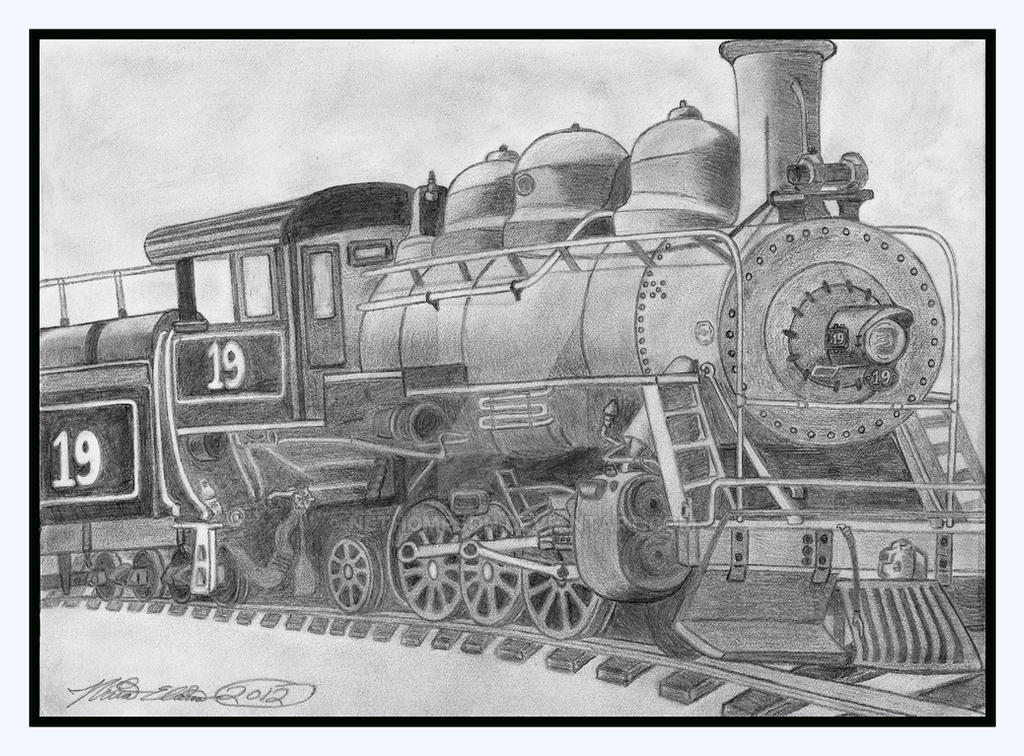 Image Gallery old railroad drawing