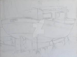 Pisces (W.I.P.) Outline sketch