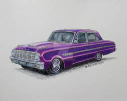 Purple Passion Ford Falcon (Reserved for Temple)