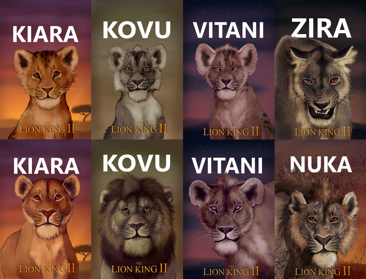 Tlk Simba S Pride Fan Remake All Posters By Silver Wolf 17 On Deviantart