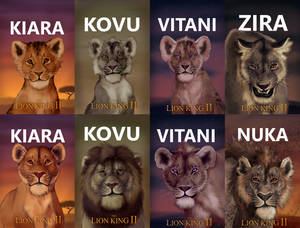 TLK: Simba's Pride Fan Remake - All Posters
