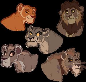 TLK: Simba's Pride Remake-to-Animated Translation