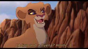 TLG: A Lion and a Hyena - SCREENSHOT REDRAW