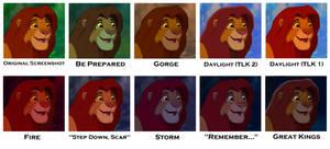 TLK: Simba Setting Palettes Sheet