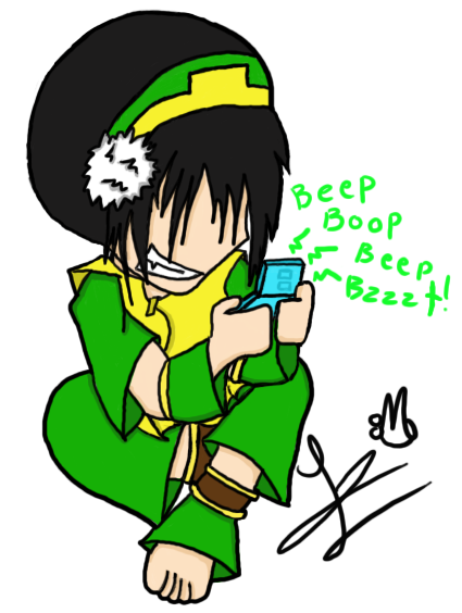 Toph: You don't need eyesight by Teppa