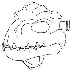 Indoraptor head base 2