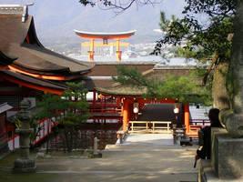 Itsukushima-shrine4 by kaz0885