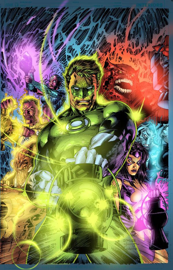 Green Lantern for fun by Javilaparra