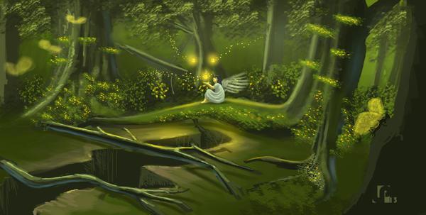 Magic Woods by Javilaparra