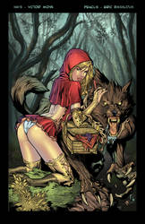 Red Riding Hood Colored