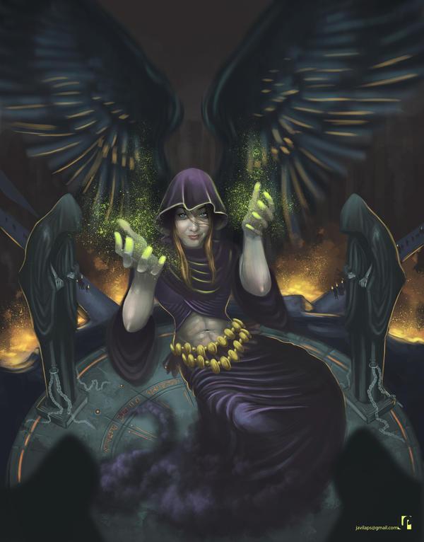 Black soul by Javilaparra