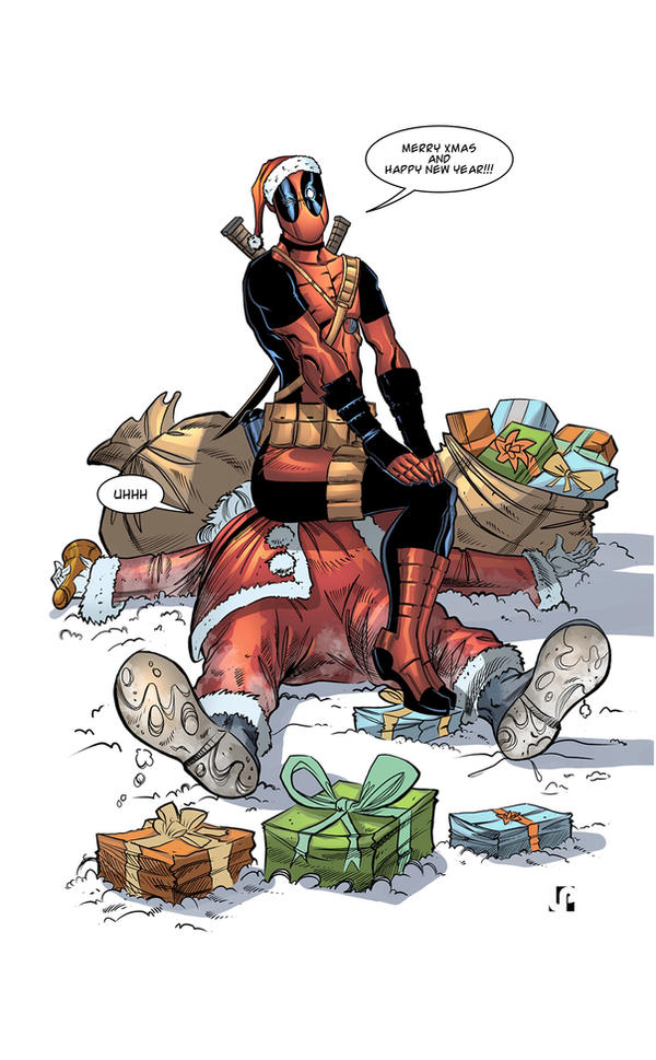 DeadPool end of year! by Javilaparra