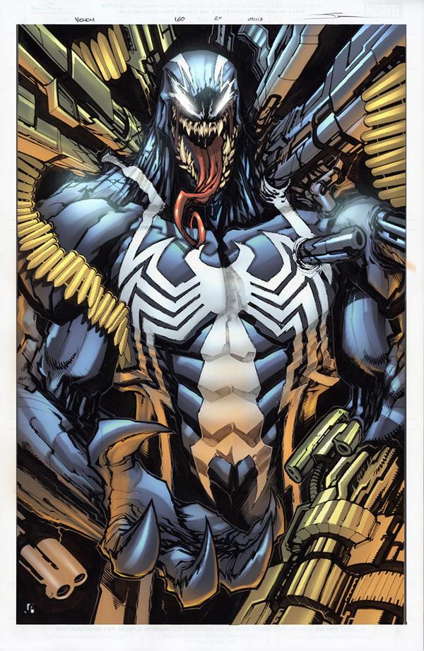 Venom 160 unused page by Javilaparra