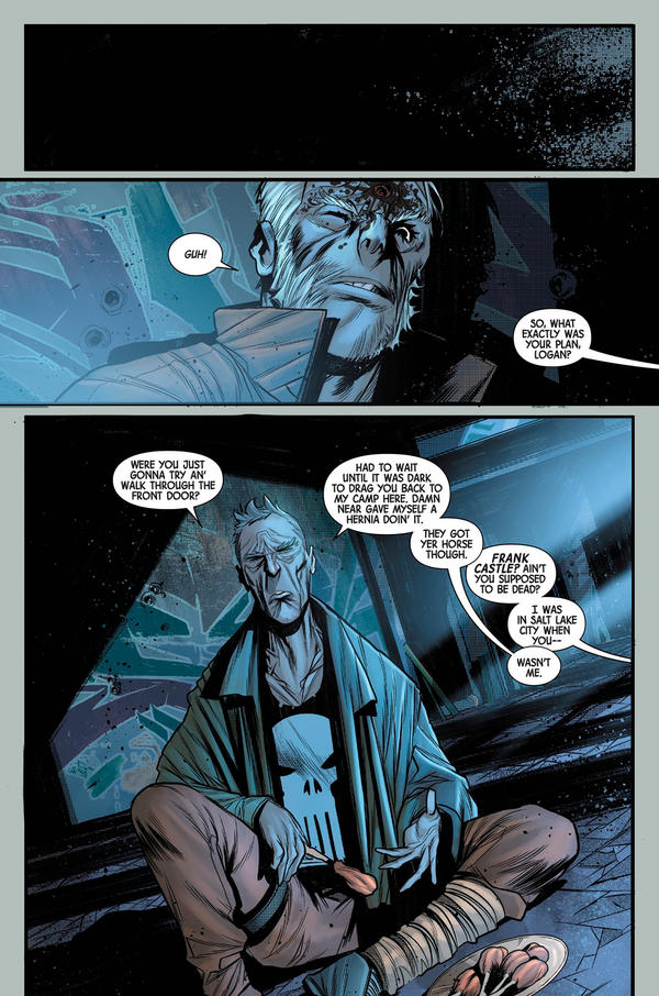 OldMan Logan 2018 Random page 0 by Javilaparra