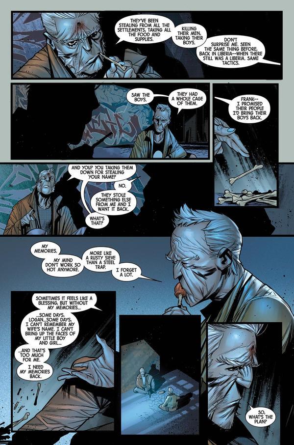 OldMan Logan 2018 Random page 1 by Javilaparra