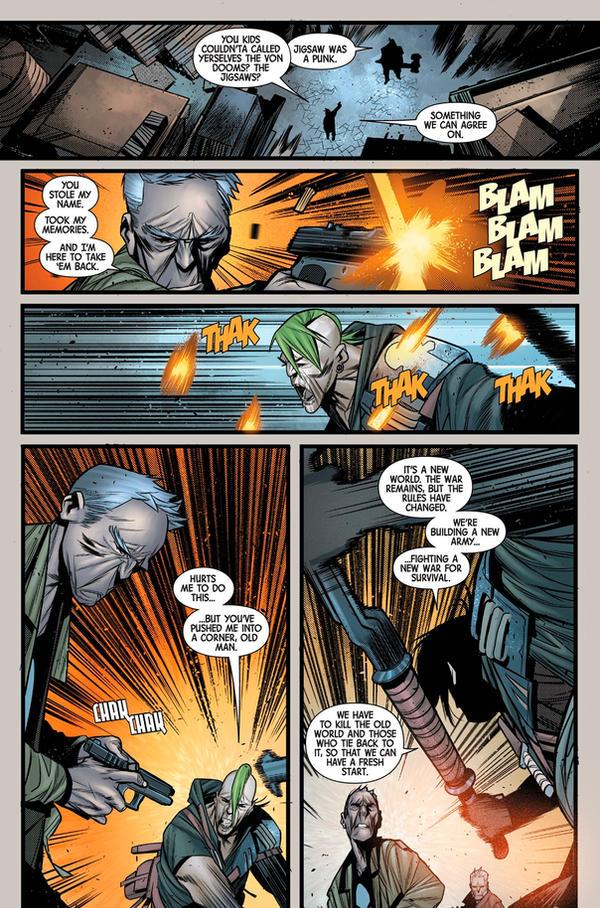 OldMan Logan 2018 Random page 4 by Javilaparra