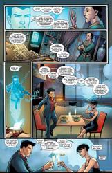 Tony Stark Iron man page colored by Javilaparra