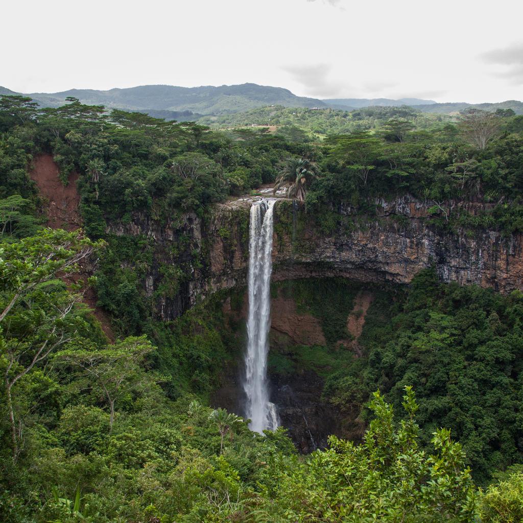 Chamarel Waterfall