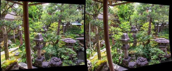 Samurai House in Stereo