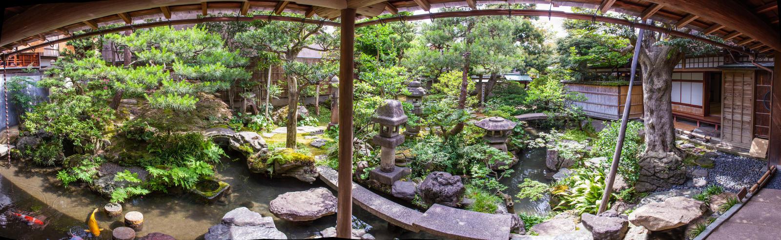 Inner Garden Panorama