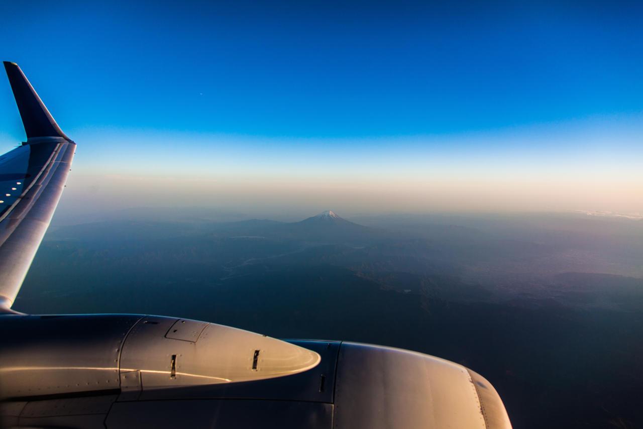 Mount Fuji At Dusk
