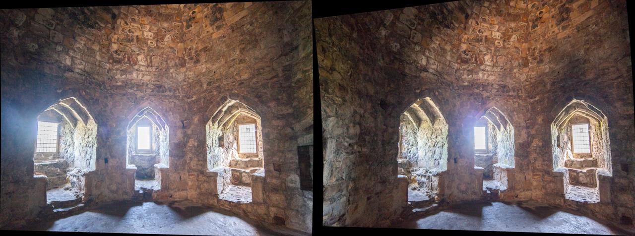 Dirleton Castle Interior