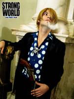 Sanji - STRONG WORLD by drwarumono