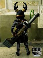 Warrior by drwarumono