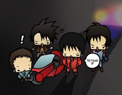 Akira: Got plans? by drwarumono