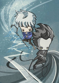 Jack Frost and Pitch
