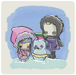 frosty by drwarumono