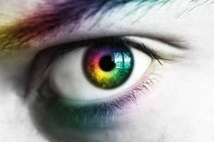 eye rainbow by darkstar797