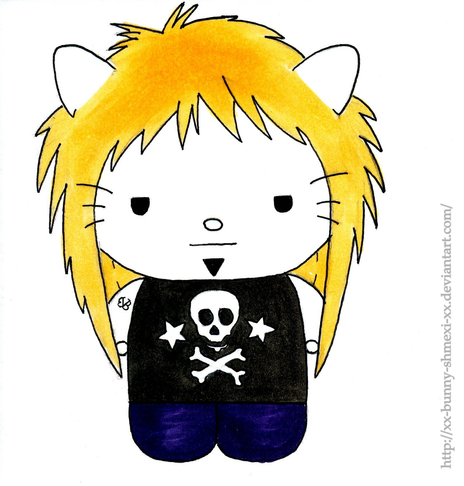 Bunny Shmexi OC. Hello Kitty Style by xX-Bunny-Shmexi-Xx