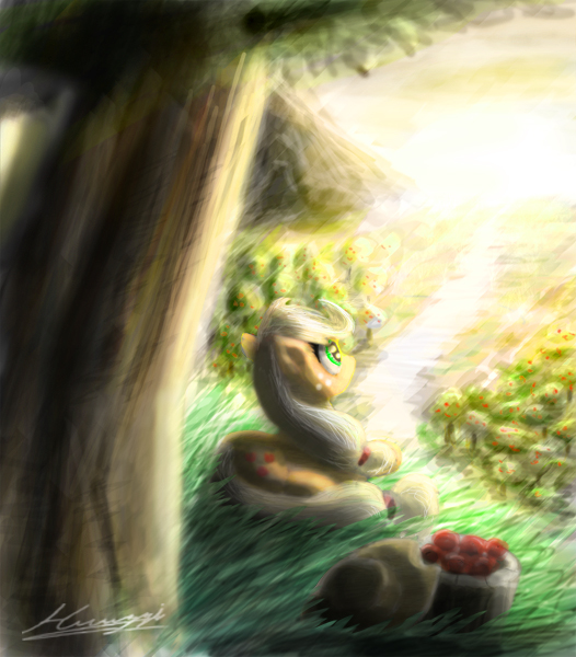 Applebuck season by Huussii