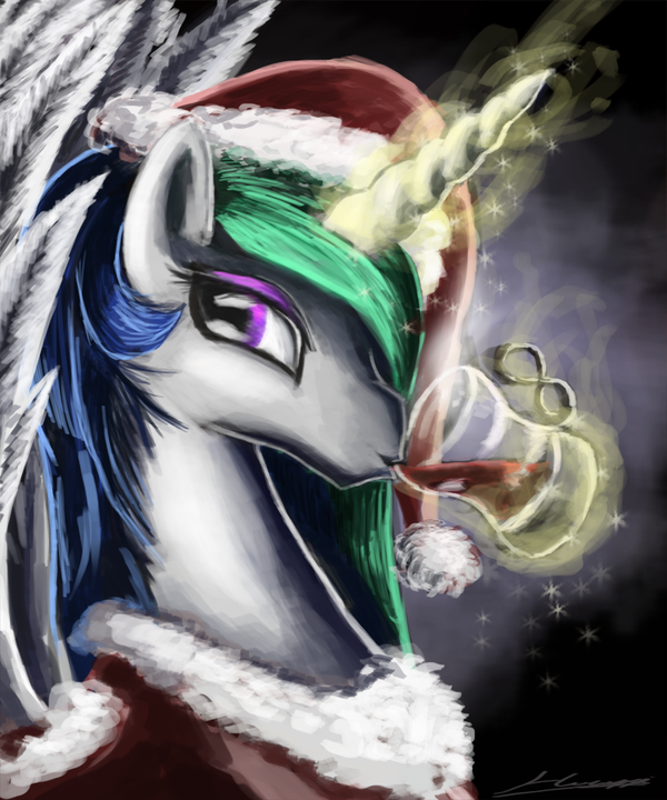 Warm Christmas Eve by Huussii