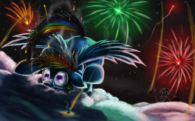 Searin' Hot New Year 2012 by Huussii