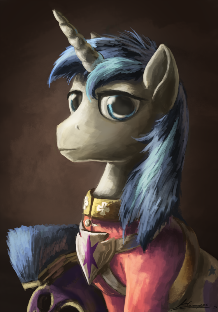 Shining Armor by Huussii