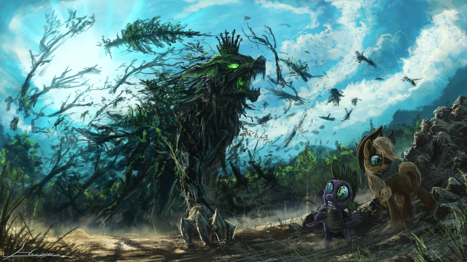 King of the Forest by Huussii