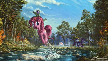 Hop, Skip and JUMP! by Huussii