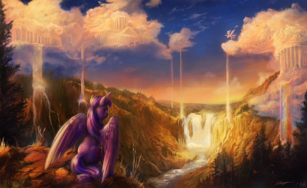 Twilight Visits the Sky