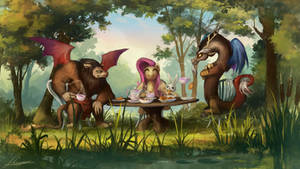 Sharing Kindness, an Easy Feat? by Huussii