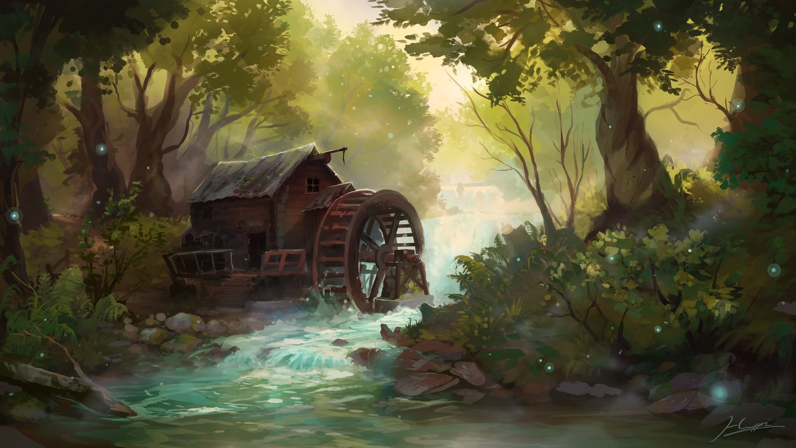 The Old Mill by Huussii on DeviantArt