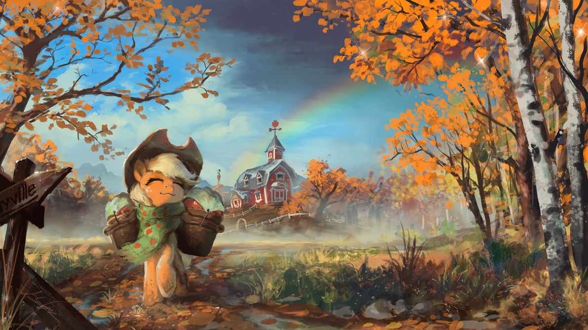 The Last Apples of Autumn by Huussii on DeviantArt