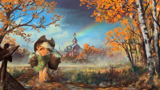 The Last Apples of Autumn