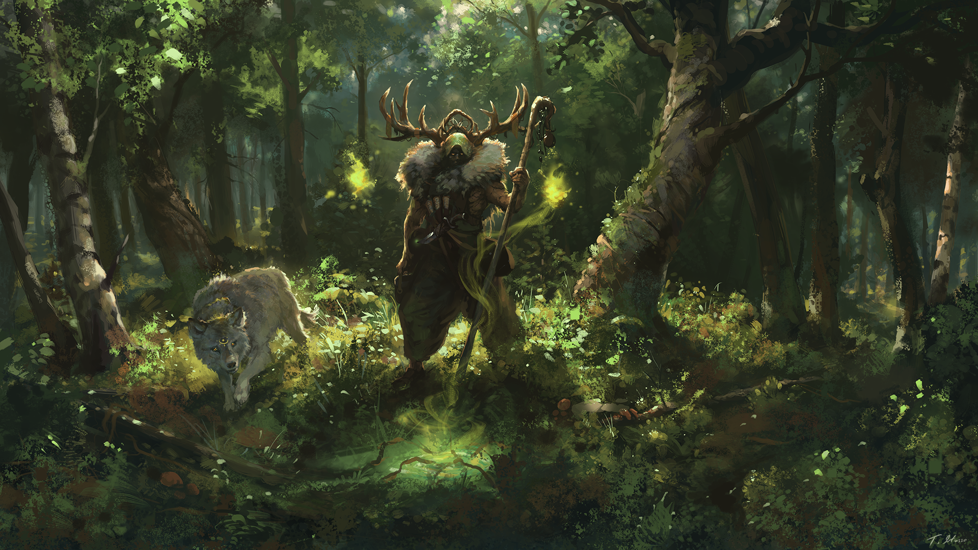 Exiled Druids of Lornwood