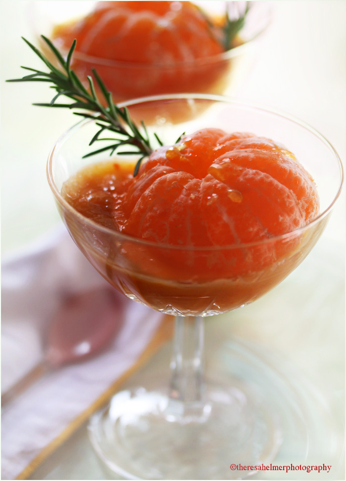 Tangerine  Dessert by theresahelmer