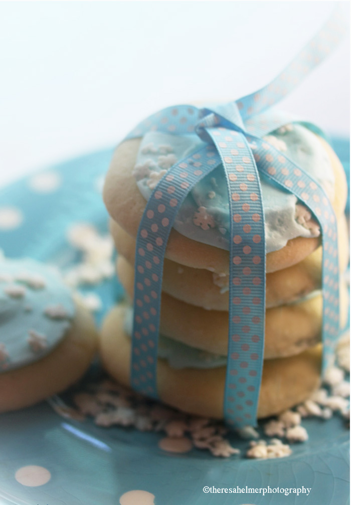 Winter Blue - Sugar Cookies by theresahelmer
